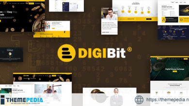 DigiBit – Bitcoin Trading Theme [Updated Version]