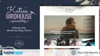 BirdHouse – A Responsive WordPress Blog Theme [Updated Version]