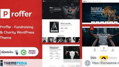 Proffer – Fundraising & Charity WordPress Theme [Free download]