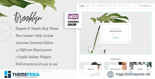 Bklyn – WordPress Blog Theme [Updated Version]