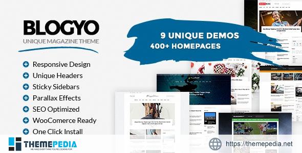 Blogyo – Multipurpose Magazine Theme [Free download]