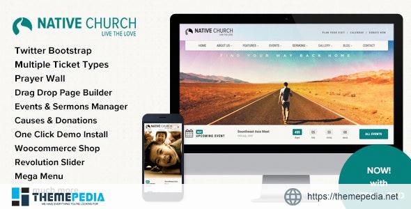 Native Church – Multi Purpose WordPress Theme [Free download]