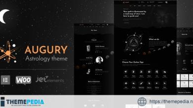 Augury – Horoscope and Astrology WordPress Theme [Free download]