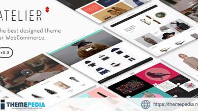 Atelier – Creative Multi-Purpose eCommerce Theme [Free download]