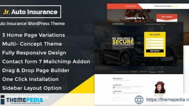 Auto Insurance WordPress Theme [nulled]