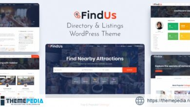 Findus – Directory Listing WordPress Theme [Free download]