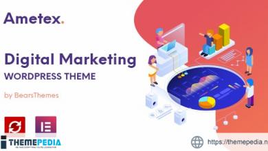 Ametex – Digital Marketing and SEO WordPress Themes [Free download]