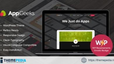 AppGeeks – A Web Studio & Creative Agency WordPress Theme [Free download]