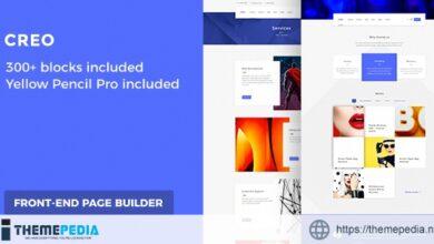 Creative Digital Agency Wordpress Theme – Creo [Free download]