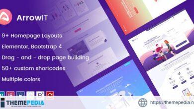 ArrowIT – Technology, Digital Transformation WordPress Theme [Free download]
