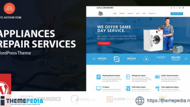 Appliance – Domestic Devices Repair Services [Free download]