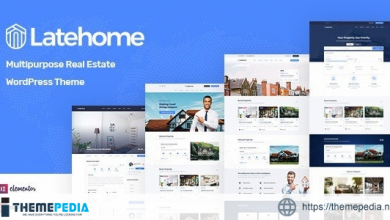 LateHome – Real Estate WordPress Theme [Updated Version]