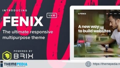 Fenix – Responsive Multi-Purpose WordPress theme [Free download]