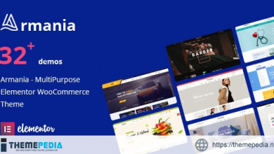 Armania – Fashion, Furniture, Organic, Food Multipurpose Elementor WooCommerce Theme (RTL Supported) [Latest Version]