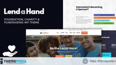 Lend a Hand – Foundation & Charity WordPress Theme [Free download]