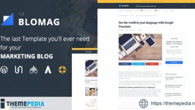 BloMag WordPress Theme – Exclusively for Marketers [Updated Version]
