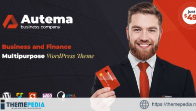 Autema – Quick Loans, Bitcoin, Business Coach and Insurance Agency WordPress Theme [Free download]