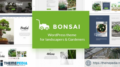 Bonsai – WP Theme for Landscapers & Gardeners [Free download]