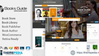 Book Store WordPress Theme [Free download]