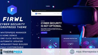 Firwl – Cyber Security WordPress Theme [Free download]