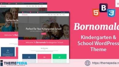 Bornomala – Kindergarten & School WordPress Theme [Updated Version]