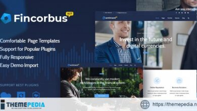 Fincorbus – Finance Corporate WordPress Theme [Free download]