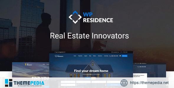 Residence Real Estate WordPress Theme [Free download]