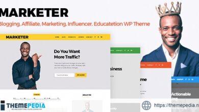 Marketer – Marketing, Blogger & Educate WordPress Theme [Latest Version]