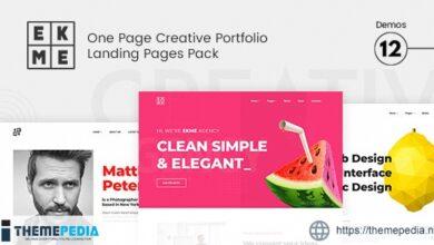 Ekme -Creative Agency Portfolio WordPress Theme [nulled]
