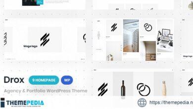 Drox – Agency & Portfolio WordPress Theme [Free download]