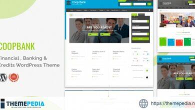 Financial , Banking & Credits WordPress Theme- CoopBank [Free download]