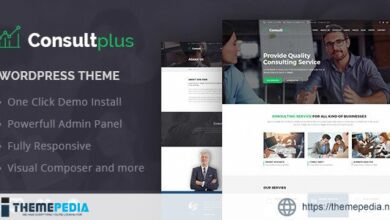 Consultplus – Business Consulting WP Theme [Free download]