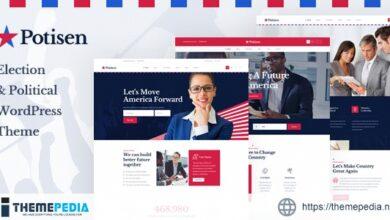 Potisen – Election & Political WordPress Theme [Free download]