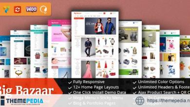 BigBazaar – Responsive WooCommerce WordPress Theme [Latest Version]