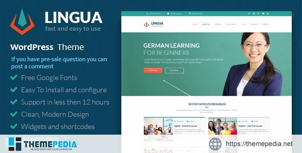 School Or Instructor – Lingua WordPress Theme [Free download]