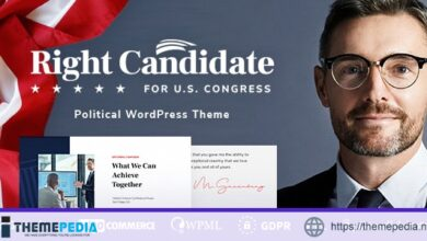 Right Candidate – Election Campaign and Political WordPress Theme [Free download]