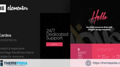 Cardea – Portfolio One Page WordPress Theme [Updated Version]