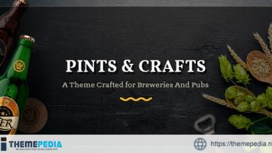 Pints&Crafts – Bar, Beer & Pub Theme [Free download]
