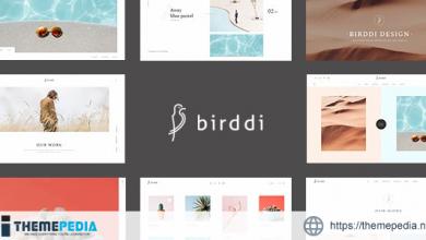 Birddi – A Creative Portfolio WordPress Theme [Free download]