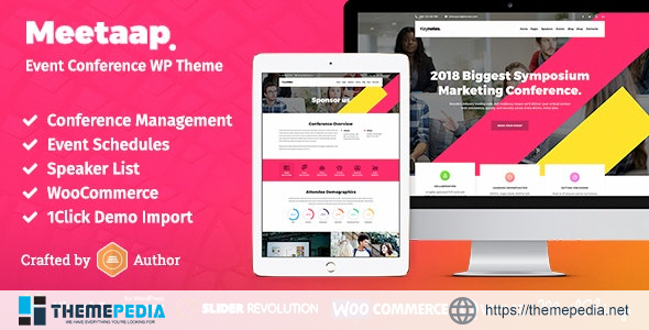 Meetaap – Event & Conference WordPress Theme [Latest Version]