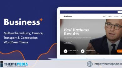 Business Plus – Multi-niche Industry, Finance, Transport & Construction WordPress Theme [nulled]