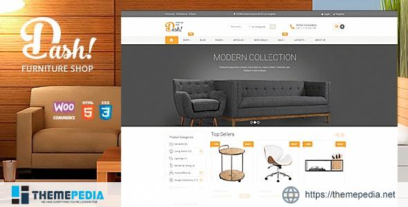 Dash – Handmade Furniture Marketplace Theme [Free download]