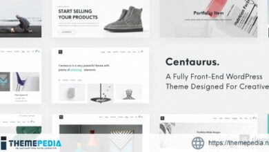 Centaurus – Creative Multi-Purpose WordPress Theme [Free download]