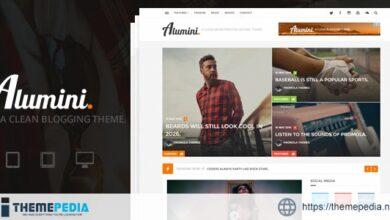 Alumini – WordPress Blogging – Magazine Theme [Free download]