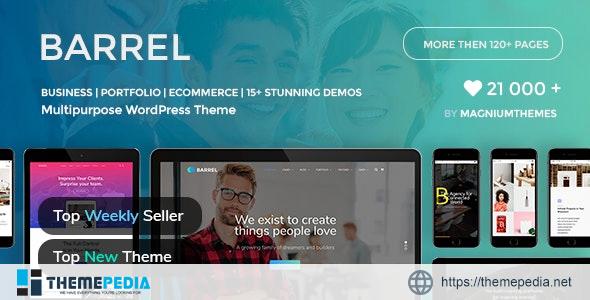 Barrel – Creative Corporate Business Responsive Multi-Purpose WordPress Theme [Free download]