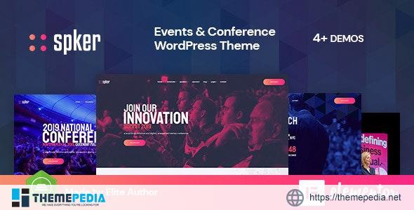 Spker – Conference & Event WordPress Theme [Latest Version]