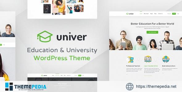 University WordPress Theme – Univer [Updated Version]