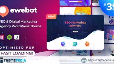 Ewebot – SEO Marketing & Digital Agency [Free download]