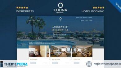 Colina – Resort and Hotel WordPress Theme [Free download]