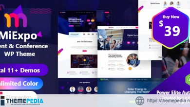 MiExpo – Event Conference Elementor WordPress Theme [Updated Version]